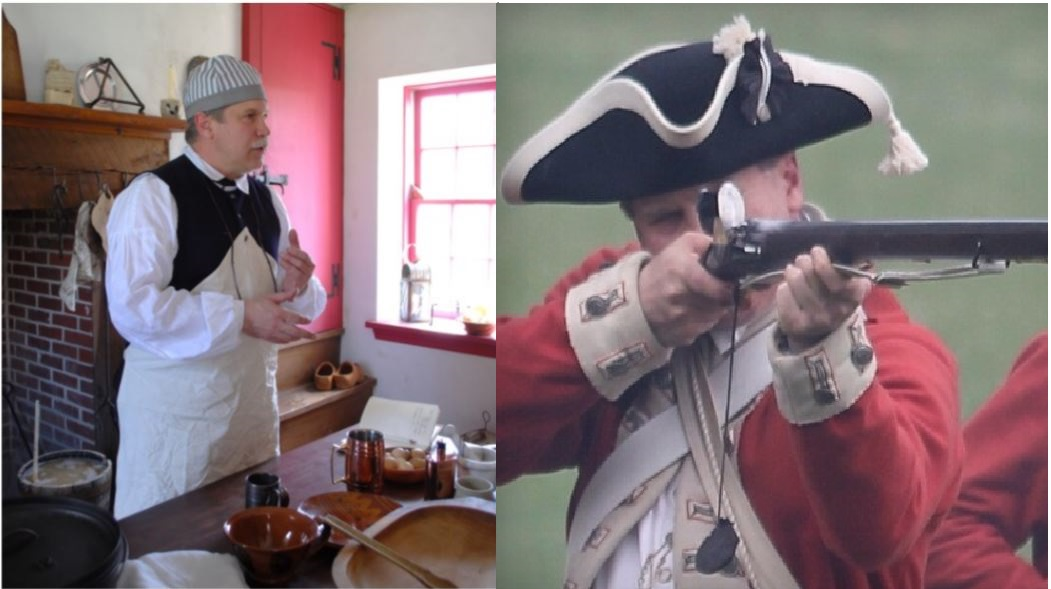 Both Civilian and Military Experience during the American Revolution