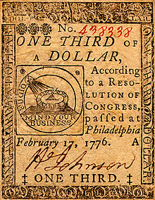 This image has an empty alt attribute; its file name is 220px-continental_currency_one-third-dollar_17-feb-76_obv.jpg